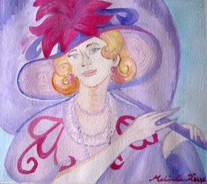 Elegant Lady by Melinda