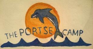 Portsea Camp Logo Painted Bag
